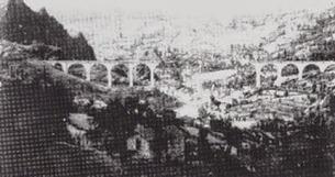 Ponte della Villetta bombardato