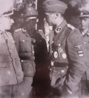 Ufficiali estoni Waffen SS